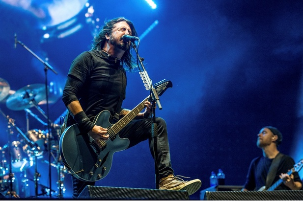 Dave Grohl z Foo Fighters