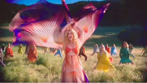 Katy Perry, videoklip Never Really Over