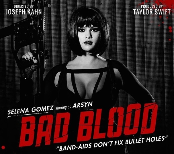 Selena Gomez v Bad Blood ako Arsyn