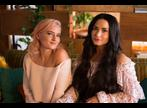 Grace Chatto z Clean Bandit a Demi Lovato