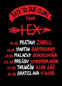 Hex - Back to the clubs tour 2020